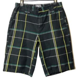 Men's Plaid Hybrid Shorts Size 30